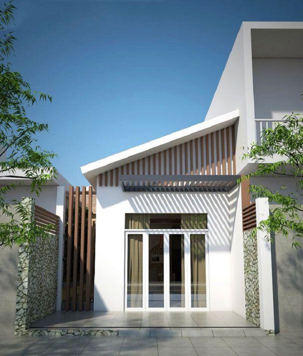 Thiết kế nhà ở cấp 4 mới 5x20m có giếng trời đẹp - Hình 4