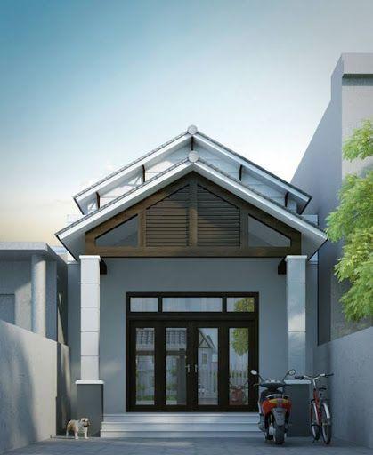 Thiết kế nhà ở cấp 4 mới 5x20m có giếng trời đẹp - Hình 5
