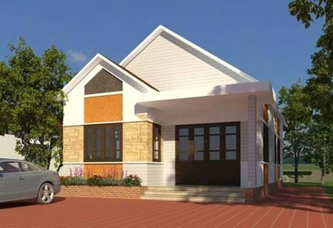 Thi công xây dựng nhà cấp 4 giá rẻ 70 triệu đồng
