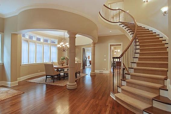Thiết kế cầu thang xoắn ốc đẹp nhất hiện nay - Mẫu 2