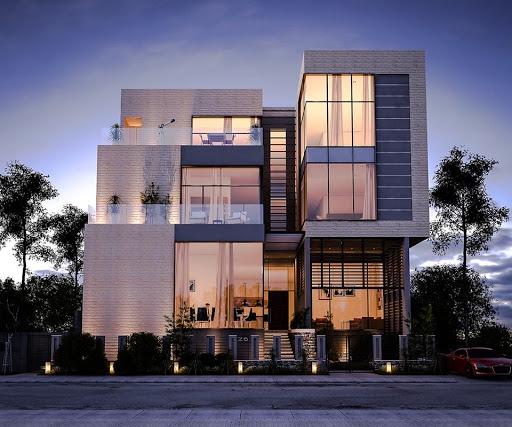 Xu hướng thiết kế biệt thự 4 tầng hiện đại