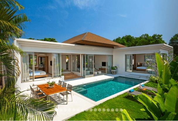 Cuốn hút với thiết kế biệt thự có hồ bơi đẹp - Hình 2