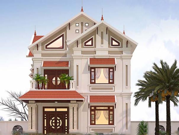 Hơn 300 thiết kế biệt thự đẹp phong cách hiện đại - Mẫu 2