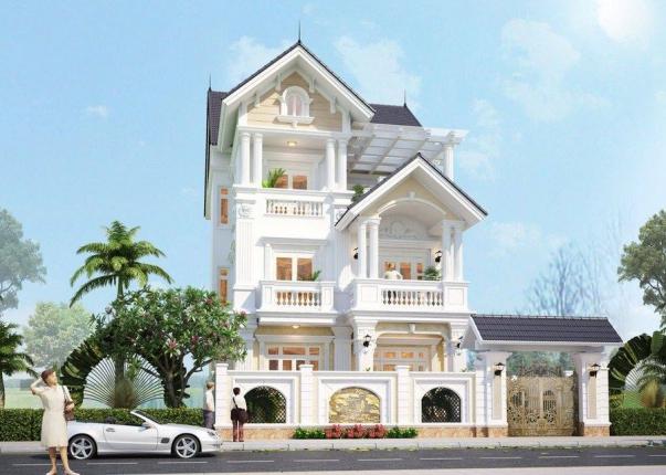 Hơn 300 thiết kế biệt thự đẹp phong cách hiện đại - Mẫu 3