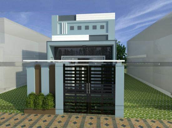 Hình ảnh mẫu thiết kế nhà cấp 4 có gác lửng 200 triệu đồng