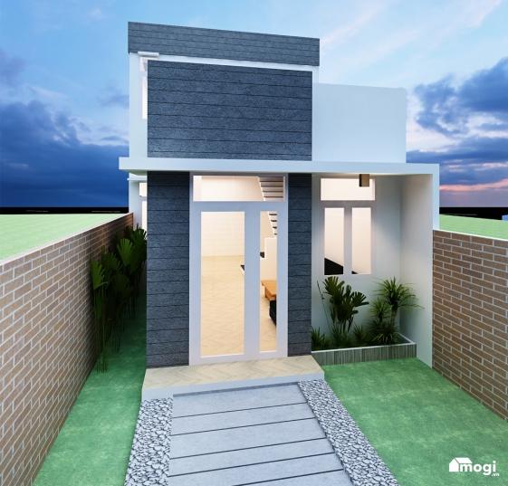 Hình ảnh mẫu thiết kế nhà cấp 4 có gác lửng diện tích 40m2