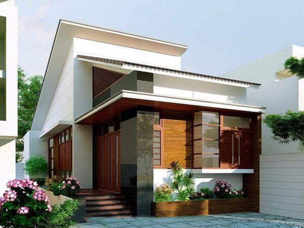 Phong cách thiết kế nhà ống 1 tầng đẹp lối kiến trúc hiện đại - hình 5