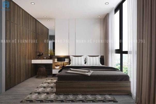 Mẫu thiết kế phòng ngủ rộng 25m đẹp nhất hiện nay