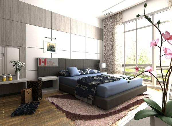 Mẫu thiết kế phòng ngủ rộng 40m đẹp nhất hiện nay