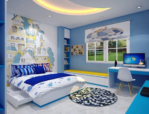 Tìm kiếm mẫu thiết kế phòng ngủ cho bé trai - Hình 1