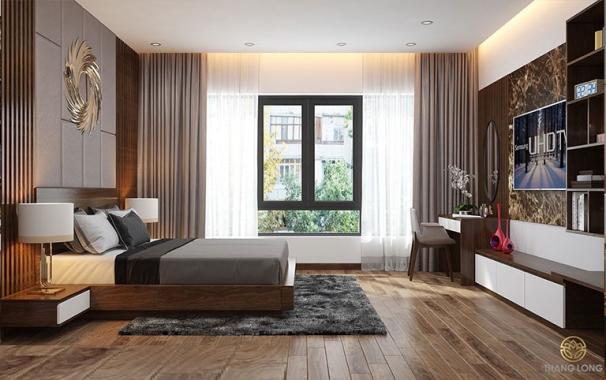 Thiết kế phòng ngủ phong cách hiện đại trong năm - Hình 1