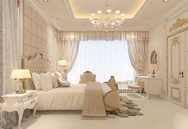 Xu hướng mẫu nội thất phòng ngủ kiểu pháp đẹp nhất trong năm nay