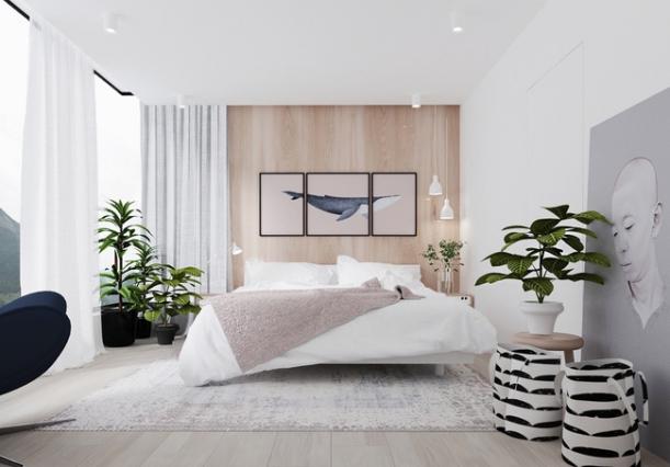 Xu hướng mẫu nội thất phòng ngủ màu trắng đẹp nhất trong năm nay