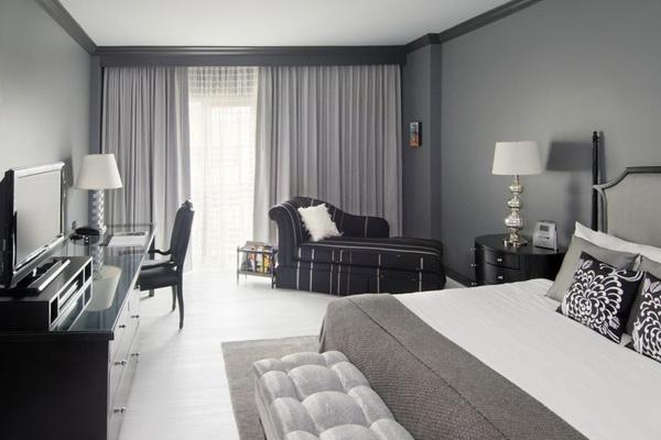 Xu hướng mẫu nội thất phòng ngủ màu xám đẹp nhất trong năm nay