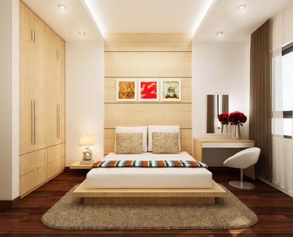 Tuyển chọn những thiết kế phòng ngủ dành cho nhà ống - Hình 3