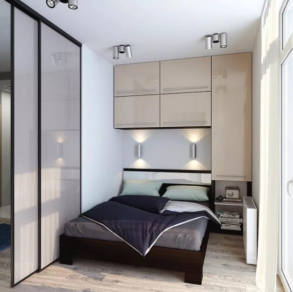 Phong cách thiết kế phòng ngủ nhỏ gọn đơn giản mà đẹp - Hình 3