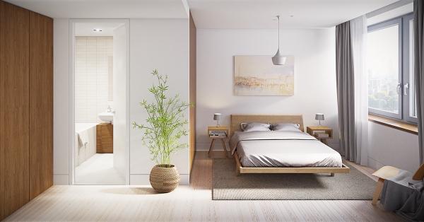 Xu hướng mẫu nội thất phòng ngủ phong cách tối giản đẹp nhất trong năm nay
