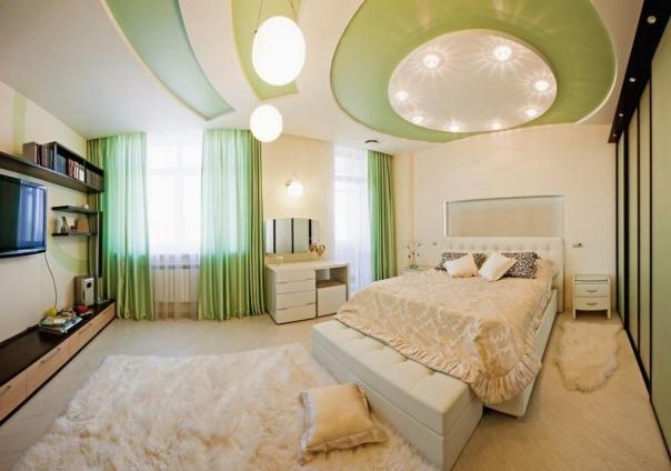 Các mẫu trần thạch cao giật cấp cho phòng ngủ đẹp nhất - Thiết kế 4