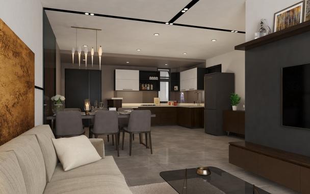 Top 10 mẫu nội thất phòng bếp nhà ống diện tích 80m2