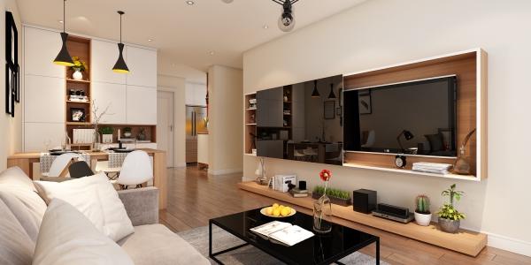 Bộ sưu tập mẫu nội thất phòng khách nhà ống diện tích 70m2