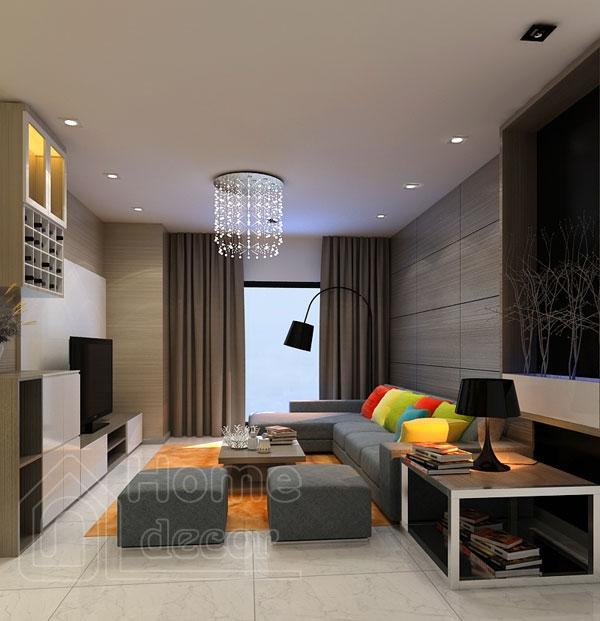 Top 10 mẫu nội thất phòng khách nhà ống diện tích 80m2