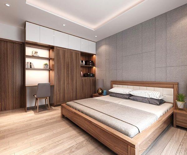 Mẫu thiết kế phòng ngủ nhà ống 2 tầng đẹp