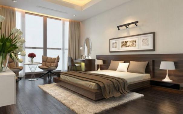 Mẫu thiết kế phòng ngủ nhà ống 3 tầng hiện đại