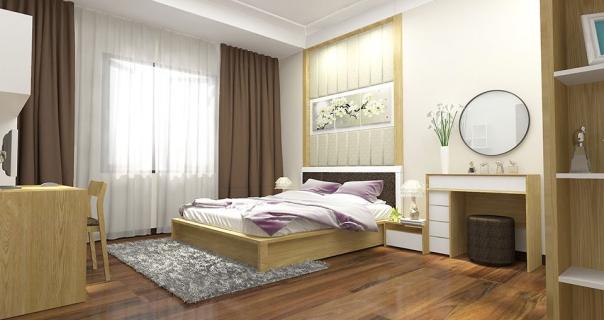 Giới thiệu mẫu thiết kế phòng ngủ nhà ống 4 tầng đẹp