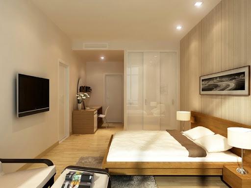 Ấn tượng với thiết kế nội thất phòng ngủ nhà ống diện tích 60m2