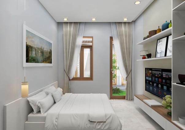 Top 10 mẫu nội thất phòng ngủ nhà ống diện tích 80m2