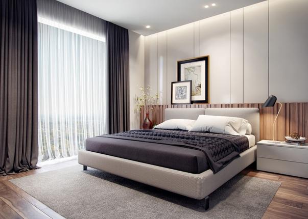 Kinh nghiệm lựa chọn phòng ngủ nhà ống mặt tiền 6m