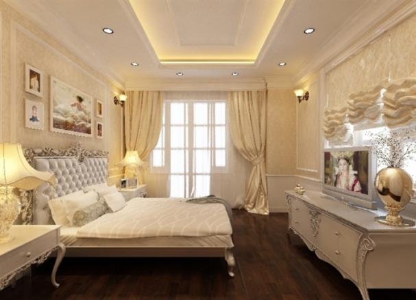 Xu hướng mẫu phòng ngủ nhà ống tân cổ điển