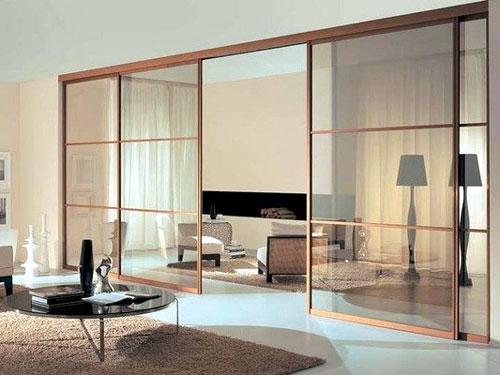 Ấn tượng với mẫu vách ngăn phòng khách bằng nhôm kính - Hình 3