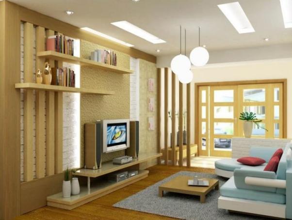 Săn lùng những mẫu vách ngăn phòng khách bằng gỗ công nghiệp - Hình 2