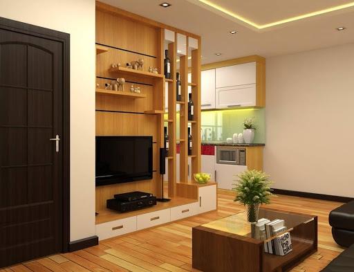 Săn lùng những mẫu vách ngăn phòng khách bằng gỗ công nghiệp - Hình 3