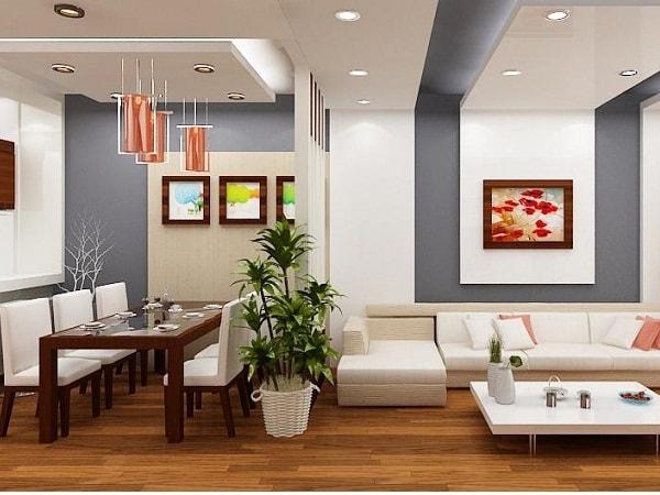 Xu hướng chọn mẫu vách ngăn phòng khách và phòng ăn - Hình 1