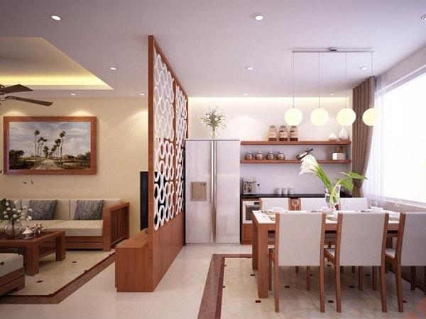 Xu hướng chọn mẫu vách ngăn phòng khách và phòng ăn - Hình 2