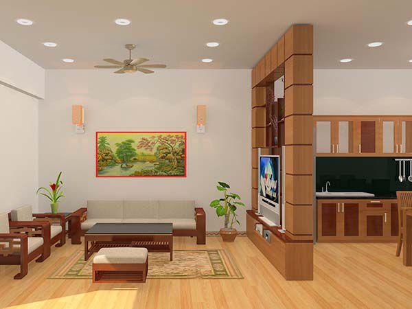 Xu hướng chọn mẫu vách ngăn phòng khách và phòng ăn - Hình 3