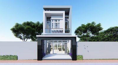 Ngắm nhìn mẫu thiết kế nhà phố 2 tầng đẹp hiện nay