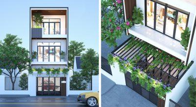 BST những mẫu thiết kế nhà phố 3 tầng đẹp phong cách mới