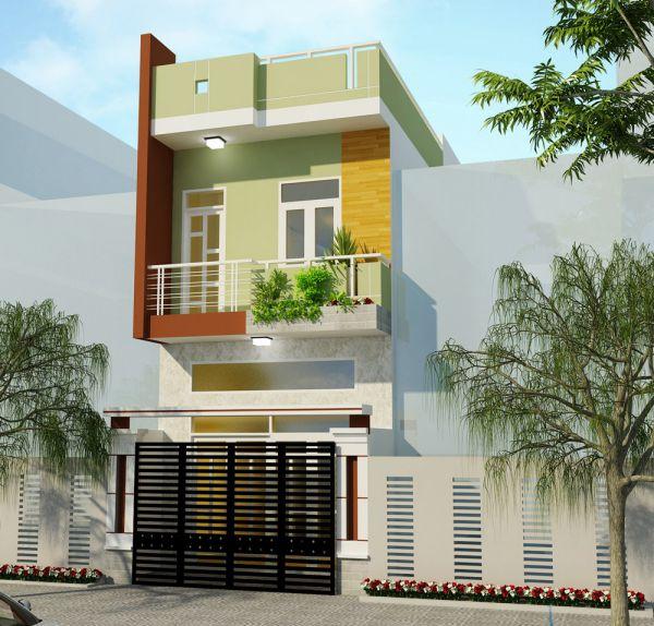 Thiết kế nhà phố 2 tầng có 3 phòng ngủ đẹp