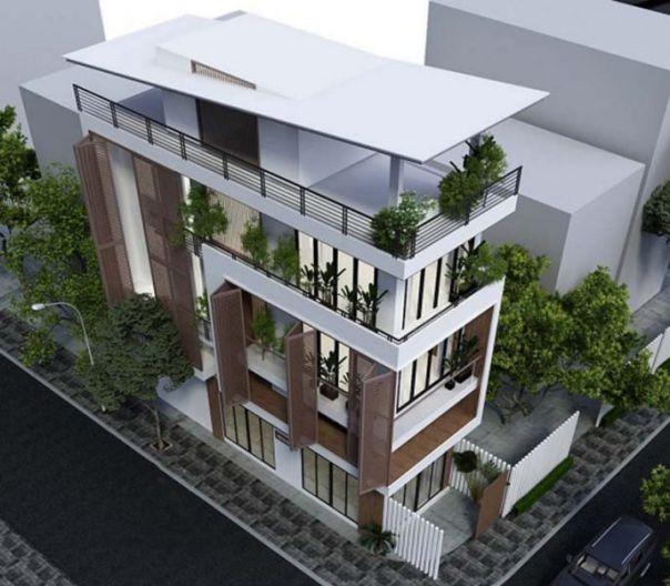 Thiết kế nhà phố 3 tầng kết hợp kinh doanh buôn bán