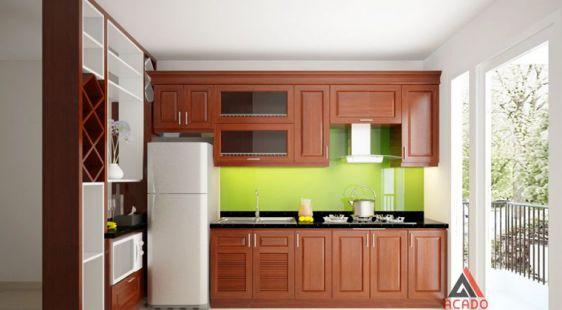 Cuốn hút với mẫu thiết kế tủ bếp hình chữ i - Ảnh 1