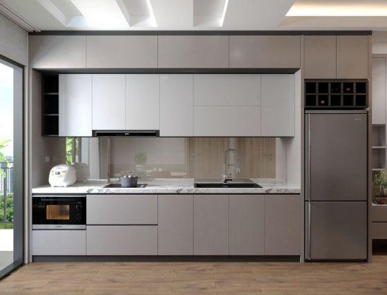 Cuốn hút với mẫu thiết kế tủ bếp hình chữ i - Ảnh 2