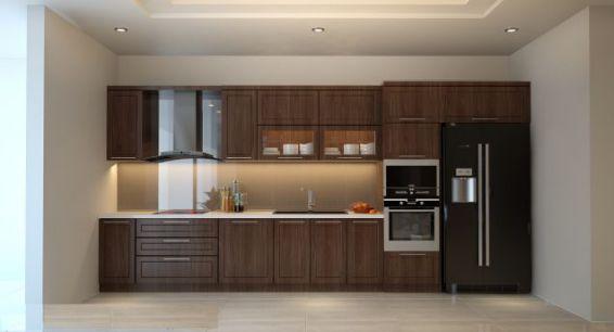 Cuốn hút với mẫu thiết kế tủ bếp hình chữ i - Ảnh 3