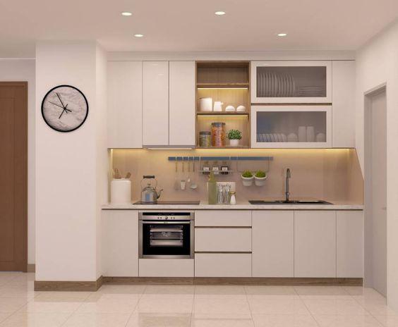Cuốn hút với mẫu thiết kế tủ bếp hình chữ i - Ảnh 5