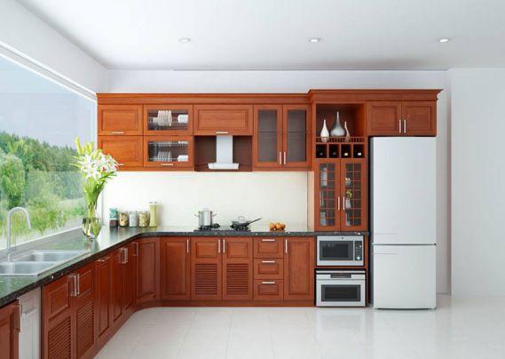 Giới thiệu mẫu tủ bếp hình chữ L đẹp - Hình 3