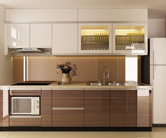Mẫu tủ bếp đẹp nhất 2021 với nhiều phong cách thiết kế mới
