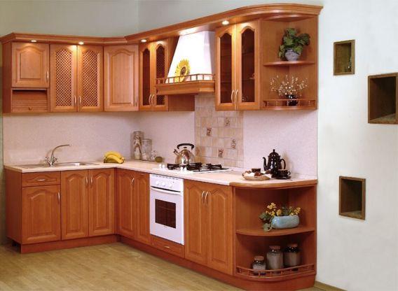 Mẫu tủ bếp gỗ tự nhiên đẹp và hot nhất hiện nay - Hình 4