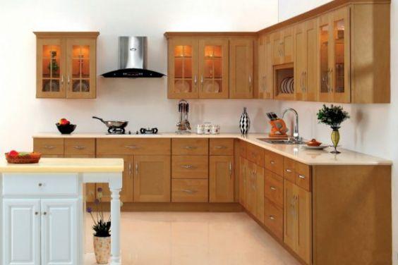Các mẫu tủ bếp gỗ xoan đào đẹp nhất - Hình 5